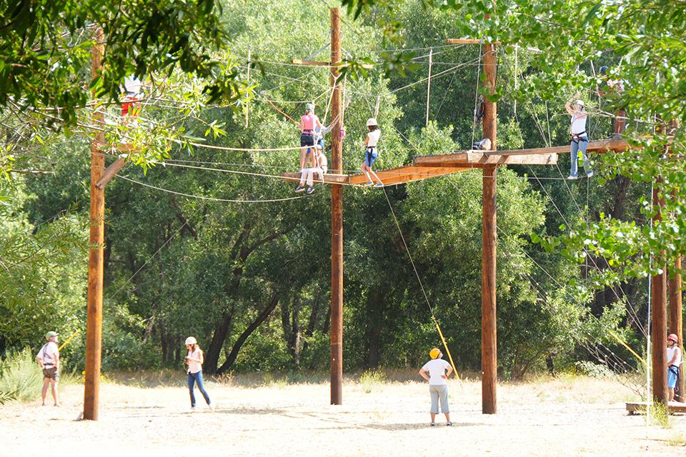Adaptive Ropes Course with Zip Line